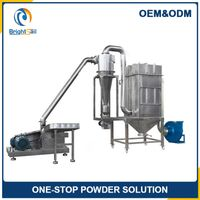 Easy operation commercial cassava flour grinding/ crushing mill