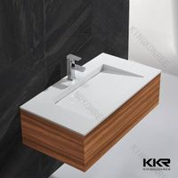 custom made cabniet basin wash hand basin with cabniet in one thumbnail image