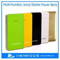 2015 Multi-function portable power bank Car Jump Starter and 8000mah power bank