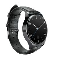 1.33 full circle inch IPS smart watch touch screen with 300mAh battery bluetooth watch