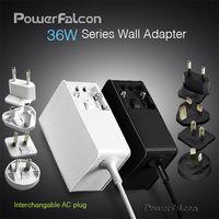 PowerFalcon 36W Wall interchangable Adapter