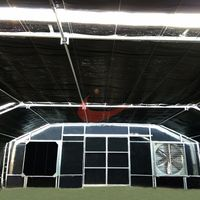 Agricultural Blackout Light Deprivation Greenhouse  custom Single Span Greenhouse thumbnail image