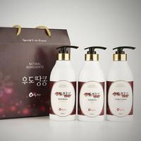 Udo Peanut 3 Basic Package (Shampoo, Body Wash, Conditioner)