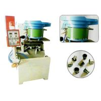 The pneumatic 2 spindle expanding nut tapping machine for making nuts