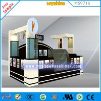 15X10ft Attractive chocolate kiosk coffee kiosk for sale