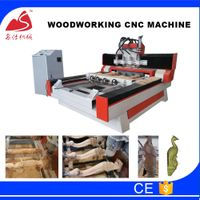MS-1325 Rotary woodworking cnc machine for furniture legs making machine thumbnail image