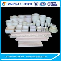 High Temperature Alumina Ceramic Crucible