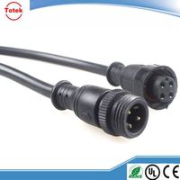 Cable assembly with waterproof connector