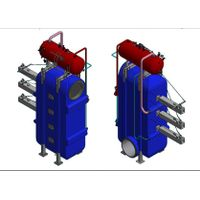 Exhaust Gas Boiler Waste Heat Recovery from High Temperature Exhaust Gas of HFO Generator Sets