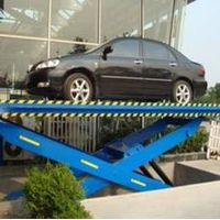 4S Shop Use Low Investment And Maintainence Scissor Car Carrying Lift