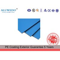 PE coated aluminium composite material interior decoration wall cladding architectural product