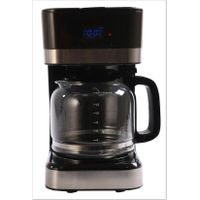Permanent filter with handle coffee maker with keep warm function