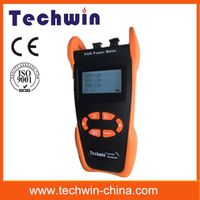 Techwin new handheld fiber optic test power meter aims at the FTTx application and maintenance TW321