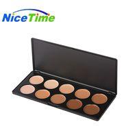 NiceTime wheat color repairing capacity acne marks fetal black eye 10 color concealer