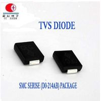 Electronic Part 1500W 5-440V Do-214AB TVS Rectifier Diode SMCJ33A/CA