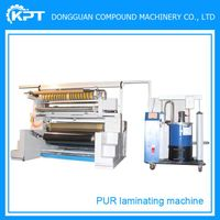 plc control apparel pur hot melt glue laminating machine