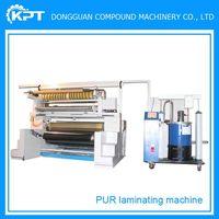 plc control apparel pur hot melt glue laminating machine