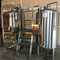 Jinan ALE Automatic Control Beer Brewhouse 2bbl Electric Brewing System thumbnail image