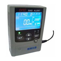wall mounted gas detector