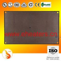 Mica heating panel with electric heating film is developed for mid-high temperature heating applicat
