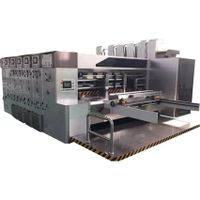 full automatic high speed flexo printing slotting rotary die cutting machine thumbnail image