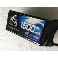 Leopard Power rc lipo battery for rc aircraft  1300mah-4S-60C