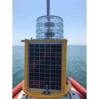 Smart GPS Sync GSM monitoring rechargeable Solar energy navigation lantern for barge vessel buoy thumbnail image