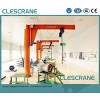 CJZ Series 0.5-10ton Professional Pillar Mounted Jib Crane Design, Jib Crane Price $100-$8000