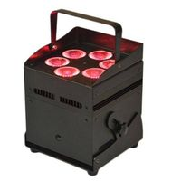 6X12W 6IN1 Battery Powered Wireless Uplight