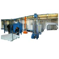 factory directly powder coating machine