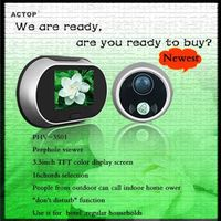Hight Quality! Peep Hole Viewer with Doorbell PHV-3501