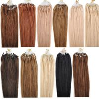 Alibaba Factory Price High Quality Brazilian Cheap 100% Human Hair Micro Ring Loop Hair Extension