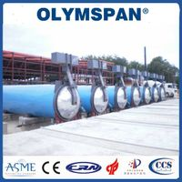 Food Rubber AAC Autoclave Pressure Vessel For Chemical / Textile / Wood thumbnail image