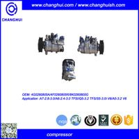 OEM 4G0260805A A/C COMPRESSOR FOR A7-2.8-3.0/A6-2.4-3.0 TFSI/Q5-3.2 TFSI/S5/A5