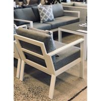 Outdoor & Indoor Aluminum Sofa set for Hotel, Garden and Beach by Clover Lifestyle