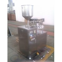 GFJX-3A semi auto aluminum tube filling sealing machine thumbnail image