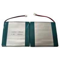 7.4V 1050mAh rechargeable lithium battery
