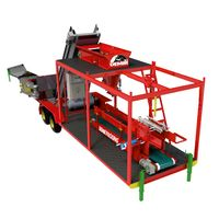 Maize Silage Beet Pulp Tmr Compact Packing Machine