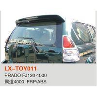 Toyota Prado FJ120 car spoiler ABS material