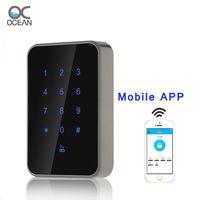 Smart Door Access Lock,Stadalone Reader,Mobile APP(Bluetooth) ,13.56Mhz Card and Password Unlock