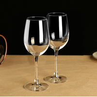 Wine Glass Glass Handmade Glass Wholesale Handmade Clear Red Wine Glass With Gold Sliver Rim thumbnail image
