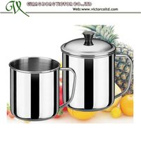 stainless steel mug cup 7cm to 14cm