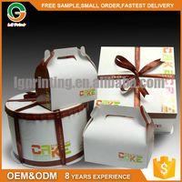 Customized CMYK matt lamination cardboard box chinese food grade paper packaging box with pvc window