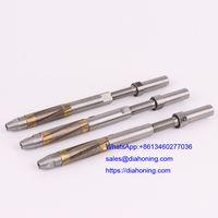 Single pass diamond honing tools