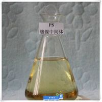 PS brightening agents for nickel plating 2-Propyne-1-sulfonic acid sodium salt C3H3NaO3S CAS NO.: 55