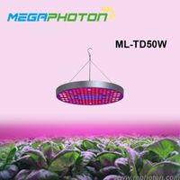 50w round shape full spectrum led grow lighting for indoor using