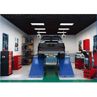 4D wheel alignment for vehicle maintenance