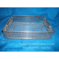 Stainless Steel Medical Disinfection Basket