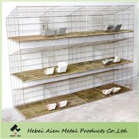 mother baby rabbit cage