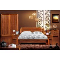 Elegant and luxurious champagne gold bedroom set